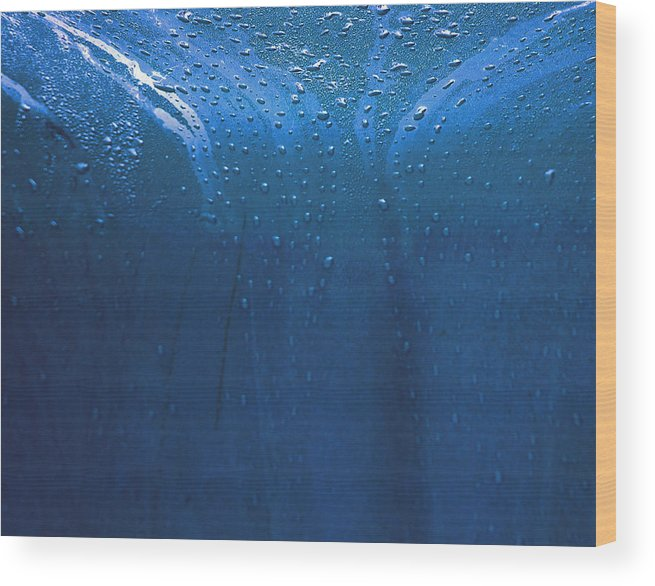 Rain Wood Print featuring the photograph Rain 2 by Mickie Boothroyd
