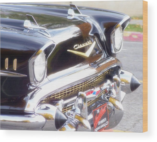 Retro Wood Print featuring the photograph Retro Dream by Catherine Utschig