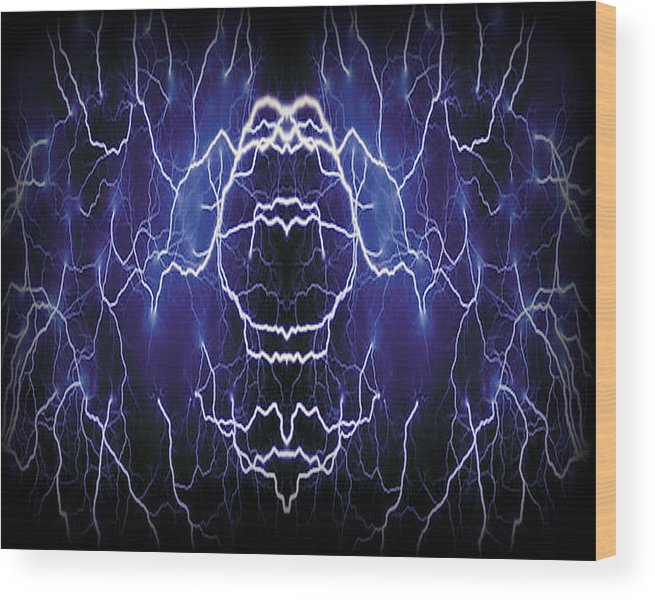 Original Wood Print featuring the photograph Abstract 115 by J D Owen