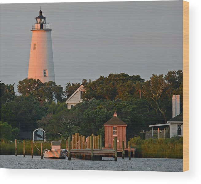 Ocracoke Island Wood Print featuring the photograph Ocracoke Island by Jamie Pattison