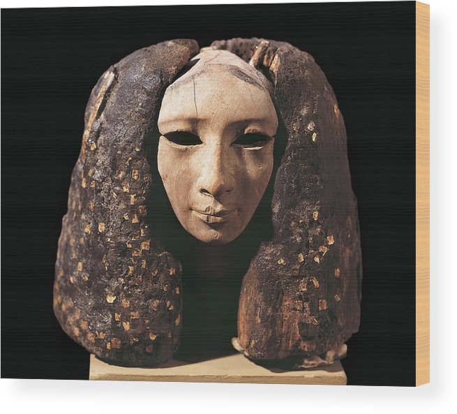 Horizontal Wood Print featuring the photograph Portrait Of A Princess. 1991 Bc by Everett