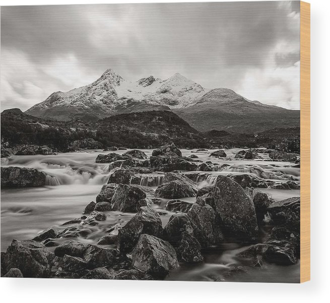 Wood Print featuring the photograph Scottish Skies by Tomas Urban