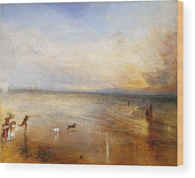 1840 Wood Print featuring the painting The New Moon by JMW Turner