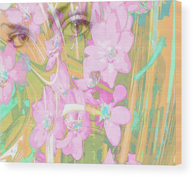 Modern Wood Print featuring the digital art The Eyes Have It by Brian Sunderland