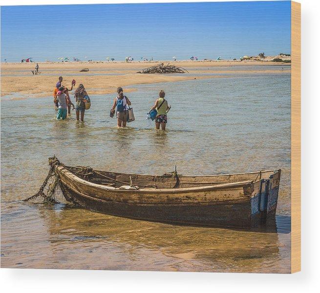 Wood Print featuring the photograph Portugal Algarve Cacela Velha by Ernesto Santos