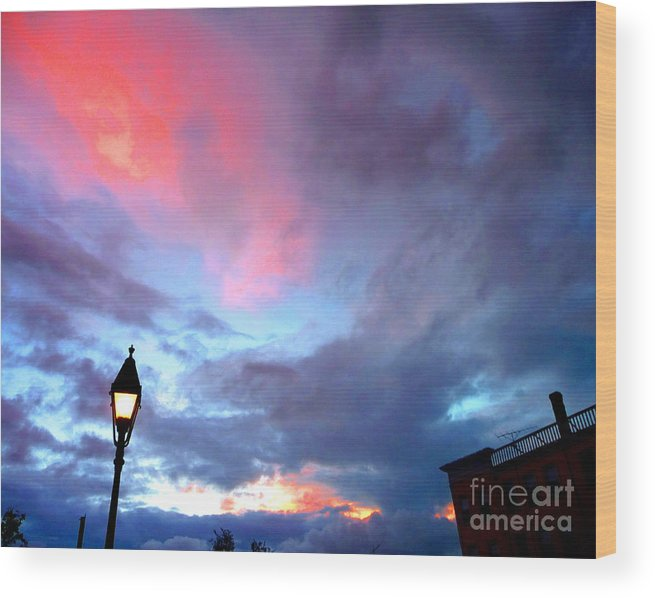 Wolfeboro Wood Print featuring the photograph Dreaming by Valerie Fuqua