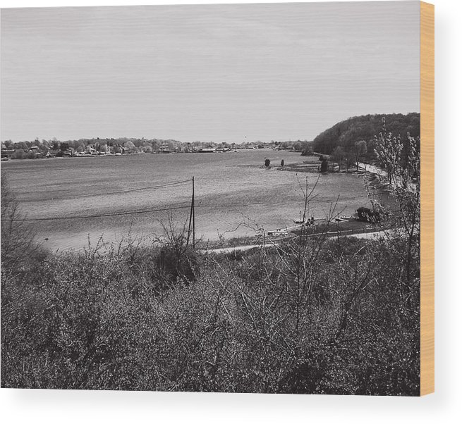 Mystic Wood Print featuring the photograph Mystic Overlook by Heather Weikel