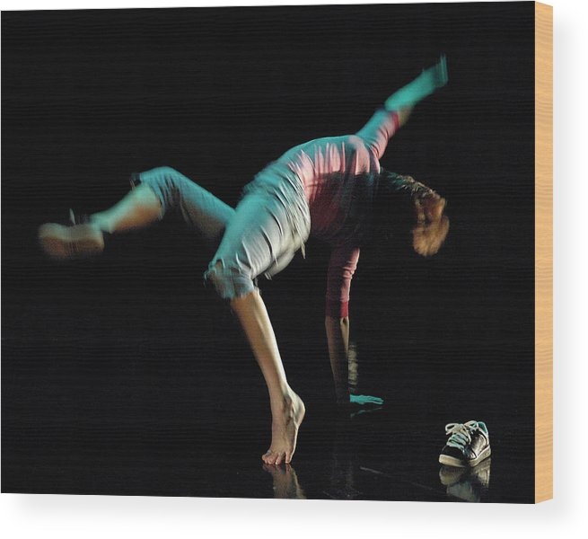 Dance Wood Print featuring the photograph Norwegian Wood by Alan Smith