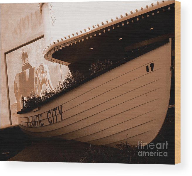Boats Wood Print featuring the photograph The Boardwalk by Heather Weikel