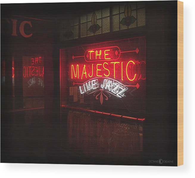 Majestic Wood Print featuring the photograph The Majestic by Tim Nyberg