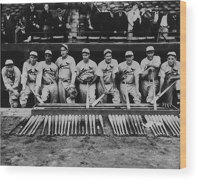 St. Louis Cardinals Wood Print featuring the photograph 1934 St. Louis Cardinals 1934 by Fpg