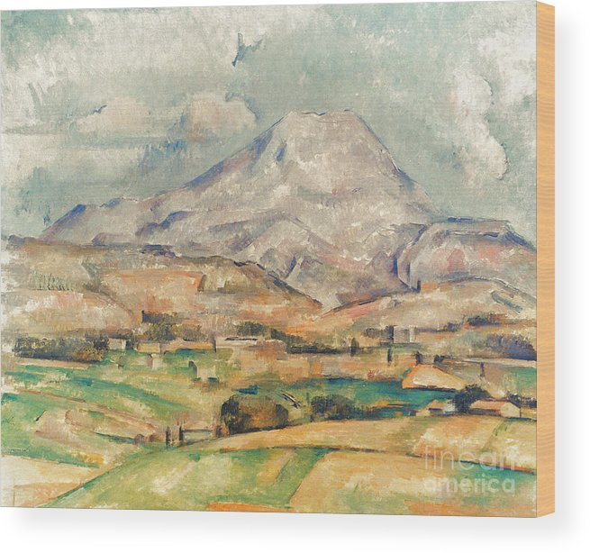 1897 Wood Print featuring the photograph Cezanne: St. Victoire, 1897 by Granger