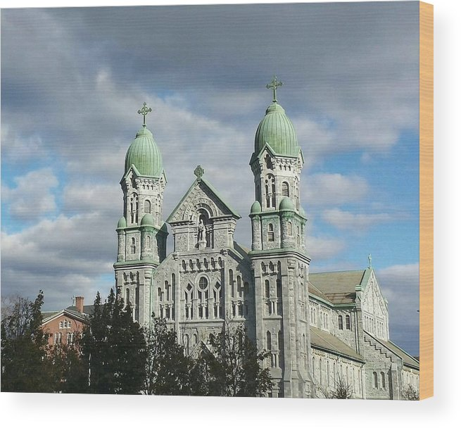 Church Wood Print featuring the photograph St. Anne's Church by Diane Berard