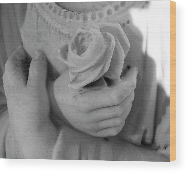 Hands Wood Print featuring the photograph These Hands by Barbara Palmer