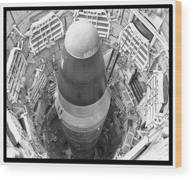 Titan Wood Print featuring the photograph Titan Missile Site Museum by Farol Tomson