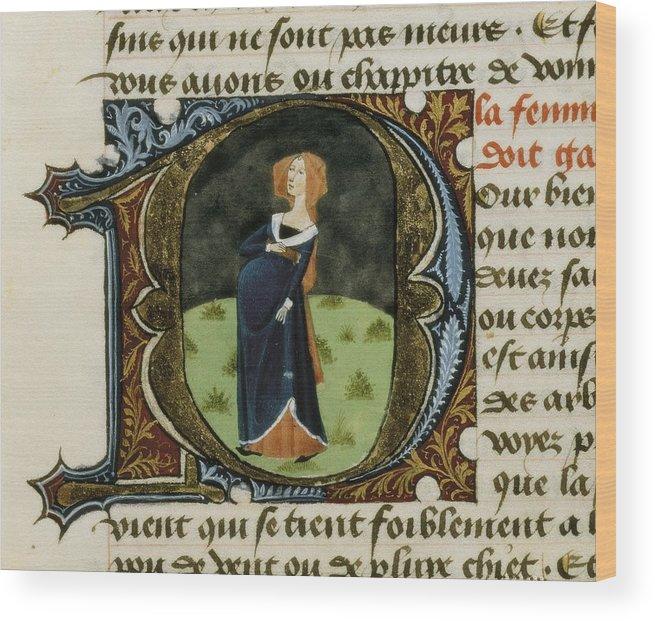 Gothic Art Wood Print featuring the photograph Firenze, Aldebrando Da 14th Century by Everett