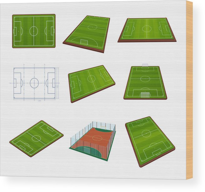 graphic relating to Printable Football Field Template identified as Fastened Sensible Soccer Sector Template, Playground With Inexperienced Gr, Scenery Picket Print