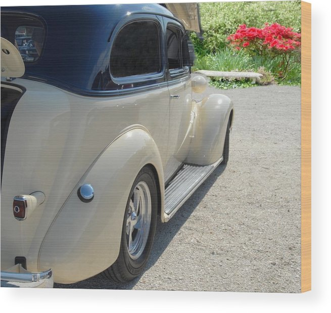 Auto Wood Print featuring the photograph Car 104 by Joyce StJames