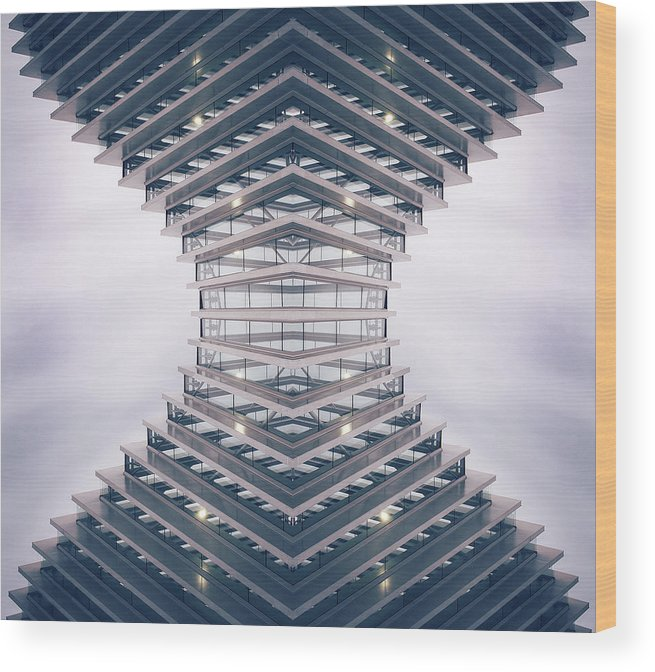 Hourglass Wood Print featuring the photograph Hourglass by Damiano Serra