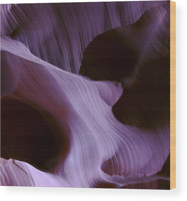 Southwest Wood Print featuring the photograph Lavender Woman by Ralph Fahringer