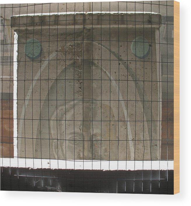 Murals Wood Print featuring the photograph Forgotten Art by Gary Everson