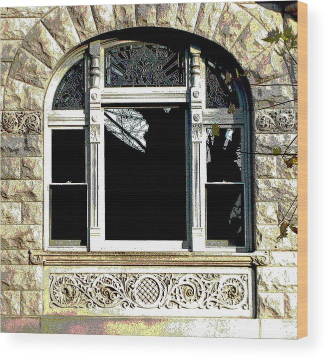Windows Wood Print featuring the photograph Window Series by Ginger Geftakys