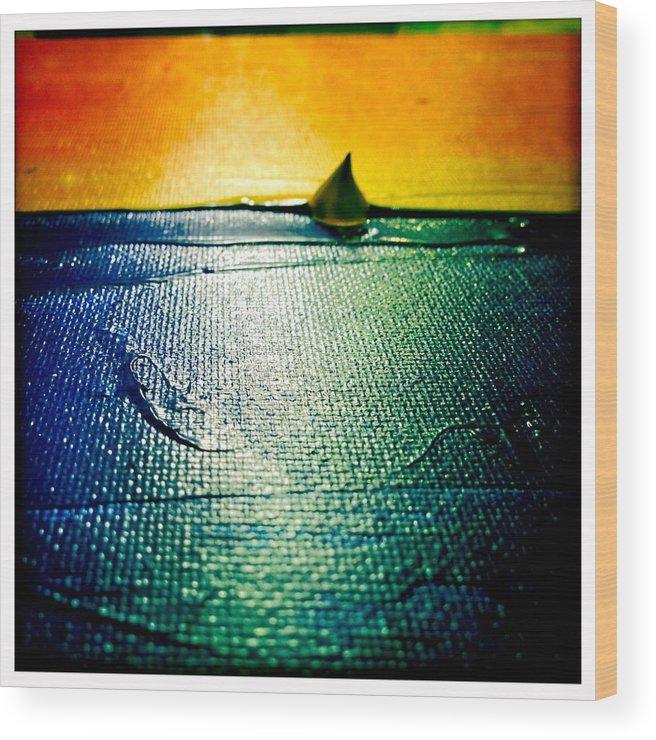 Wood Print featuring the photograph Wayfarer Series 2 by Alya Ali