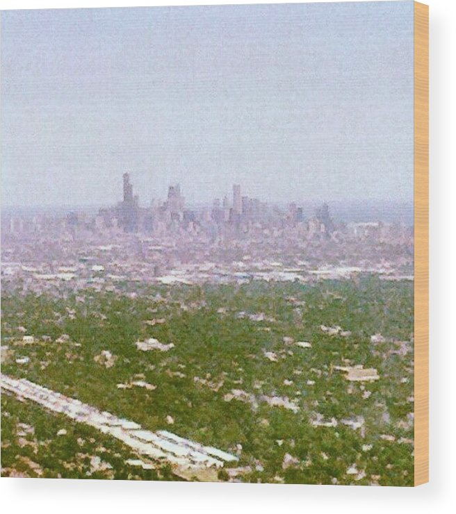 Chicago Wood Print featuring the photograph Back In My City by Jill Tuinier