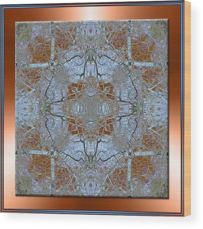 Mandala Wood Print featuring the photograph Wondrous by Michele Kaiser