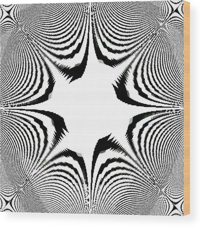 Aliens Wood Print featuring the digital art Aliens Are Coming 2 by Darryl Redfern