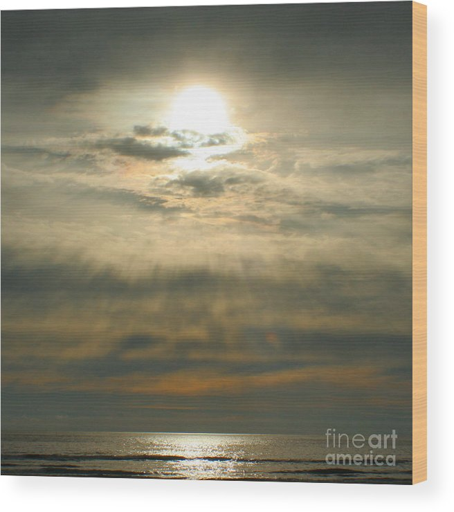 Sun Wood Print featuring the photograph Believe by Idaho Scenic Images Linda Lantzy