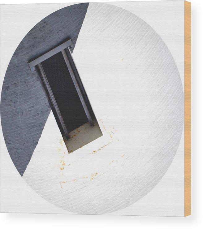Bricks Wood Print featuring the photograph Bricks by Petersam Fahnrich