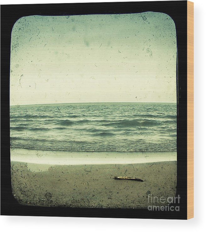 Ttv Wood Print featuring the photograph Forget Yesterday by Dana DiPasquale