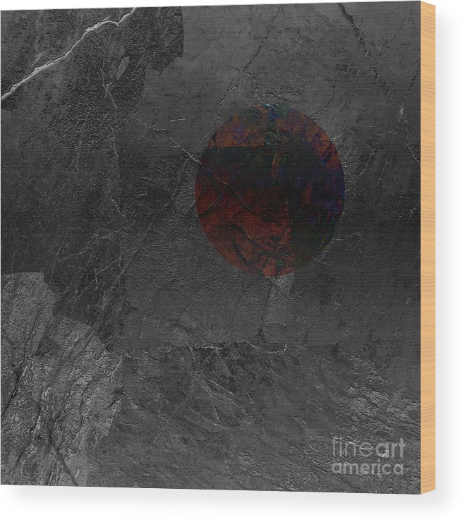Fractured Evolution Wood Print featuring the photograph Fractured Evolution 1 by Paul Davenport