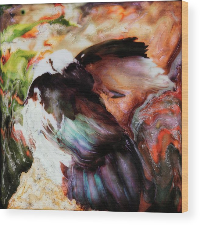 Paul Tokarski Wood Print featuring the photograph Taking Care by Paul Tokarski