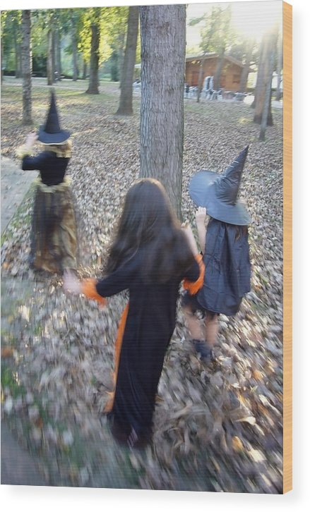 Spain Wood Print featuring the photograph Little Witches by Rafa Rivas