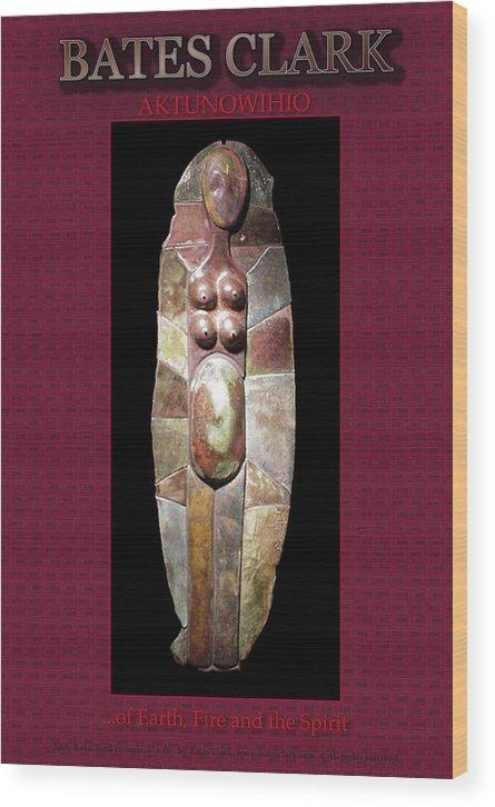 Giclee Print Wood Print featuring the digital art Aktunowihio by Bates Clark