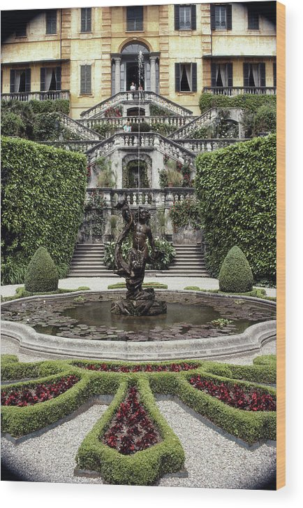 Tremezzo Wood Print featuring the photograph Villa Carlotta by Slim Aarons
