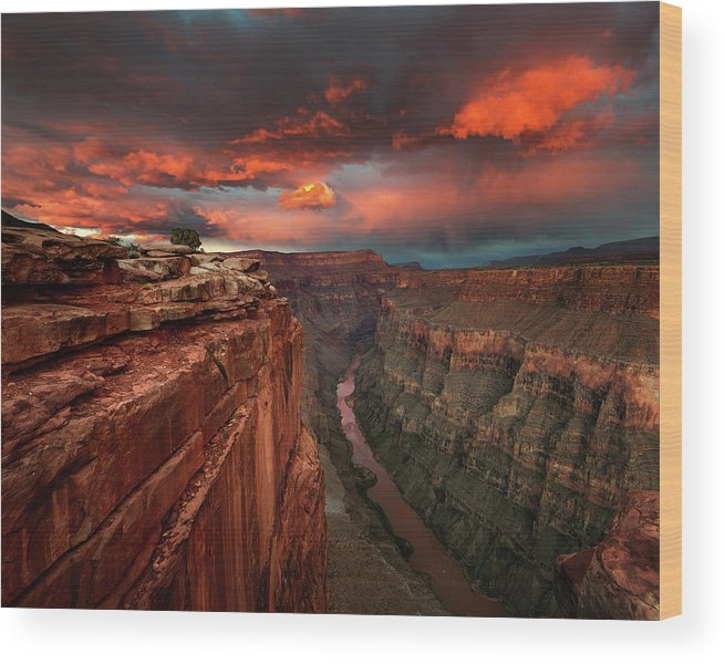Grand Wood Print featuring the photograph Redemption by Chris Moore