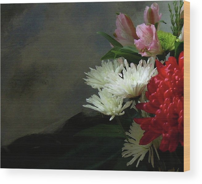 Flowers Wood Print featuring the photograph Cool Beauty by Joseph Ferguson