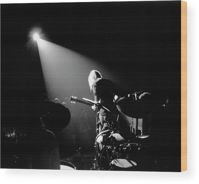 People Wood Print featuring the photograph The Allman Brothers In South Carolina by Michael Ochs Archives