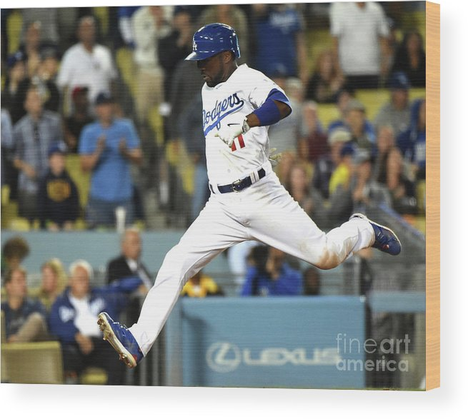 People Wood Print featuring the photograph Jimmy Rollins by Harry How