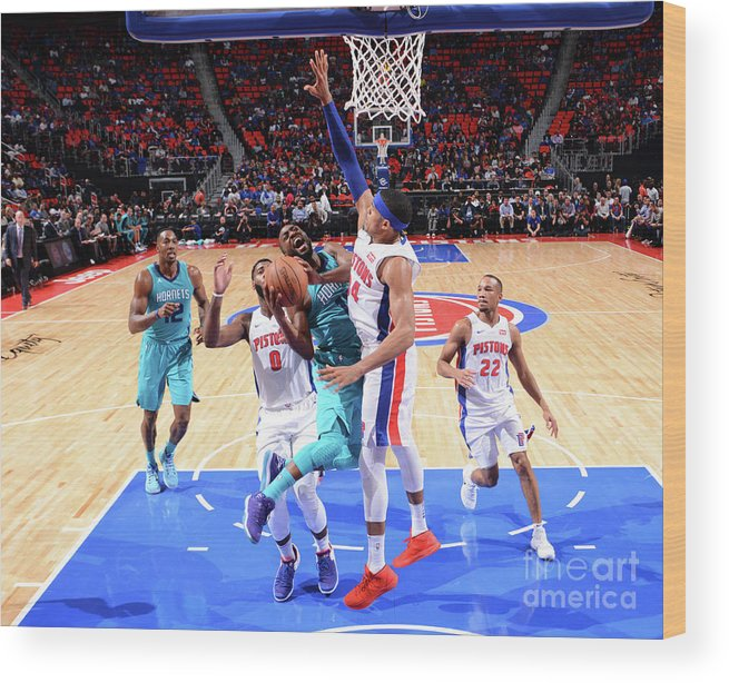 Kemba Walker Wood Print featuring the photograph Kemba Walker by Jesse D. Garrabrant