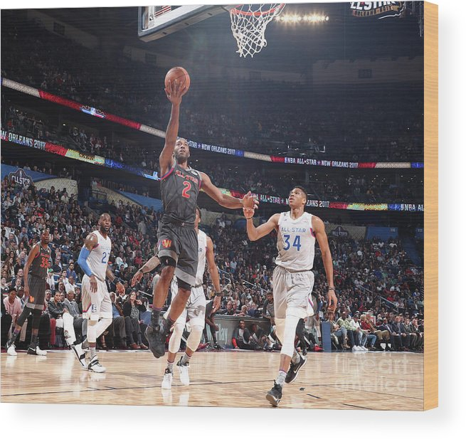 Event Wood Print featuring the photograph Kawhi Leonard by Nathaniel S. Butler