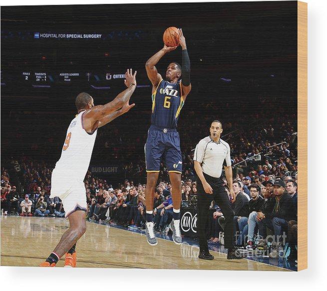 Nba Pro Basketball Wood Print featuring the photograph Joe Johnson by Nathaniel S. Butler