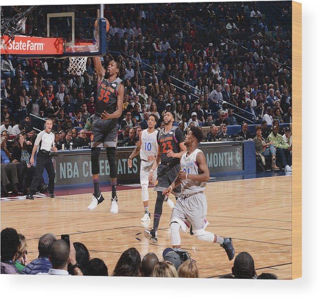 Event Wood Print featuring the photograph Kevin Durant by Jesse D. Garrabrant