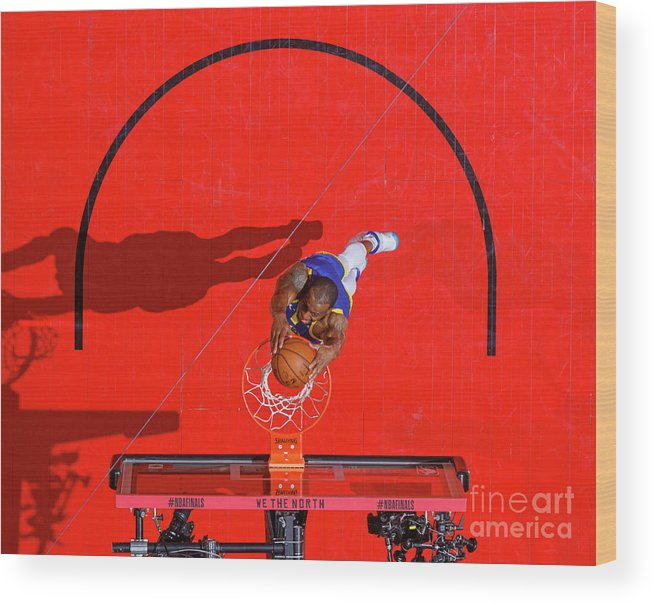Playoffs Wood Print featuring the photograph Andre Iguodala by Mark Blinch