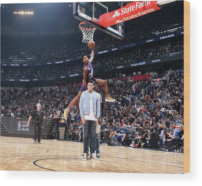 Event Wood Print featuring the photograph Derrick Jones by Nathaniel S. Butler