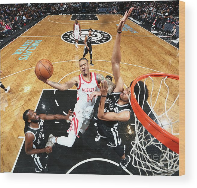 Nba Pro Basketball Wood Print featuring the photograph Gerald Green by Nathaniel S. Butler
