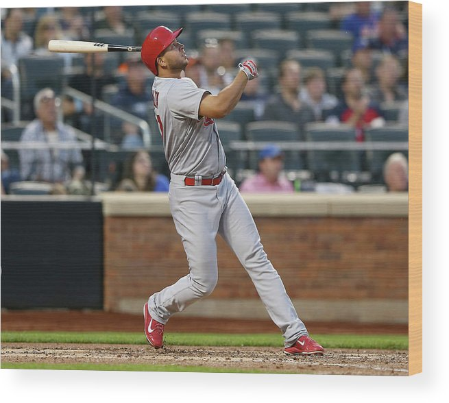 St. Louis Cardinals Wood Print featuring the photograph Jhonny Peralta by Elsa